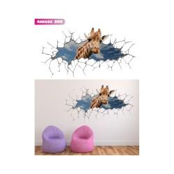 Wandaufkleber-Motiv 3D Nr. 200