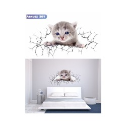 Wall sticker 3D pattern no. 201