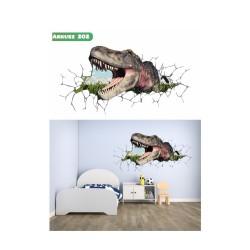 Wandaufkleber-Motiv 3D Nr. 202