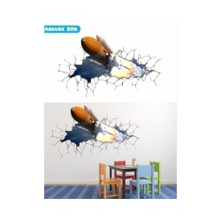 Wandaufkleber-Motiv 3D Nr. 206