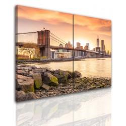Bild – auf einen Rahmen aufgezogenes Canvas 527