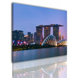 Canvas image spread on the frame 526
