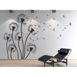 Wall sticker pattern dandelions no. 2324