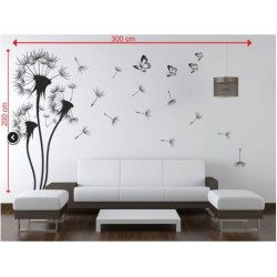Wall sticker pattern dandelions no. 23
