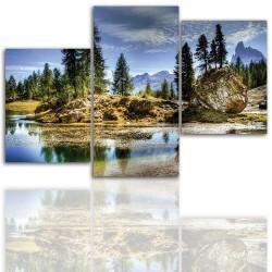 Bild – auf einen Rahmen aufgezogenes Canvas 12001