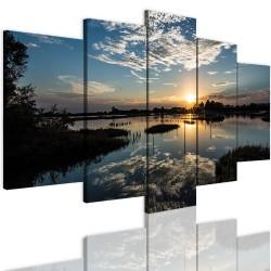 Bild – auf einen Rahmen aufgezogenes Canvas 12345