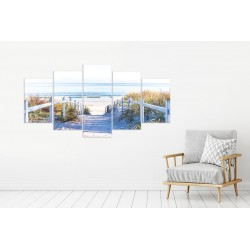 Canvas image spread on the frame 12398