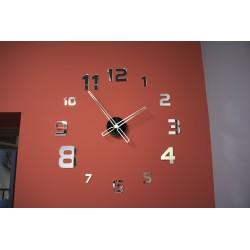 Duży nowoczesny zegar na ścianę Heled NT