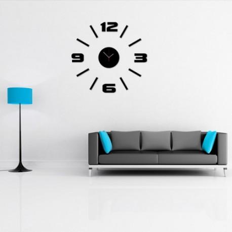 Zegar naklejany na ścianę napis  Mase NT