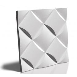 Panel ścienny gipsowy 3D Wave 50x50cm MS