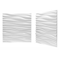 Panel na ścianę gipsowy 3D Spokojny bałtyk 50x50cm BL