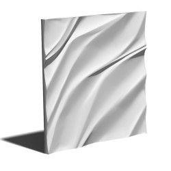 Panel na ścianę gipsowy 3D M28 Waviness 50x50cm MS