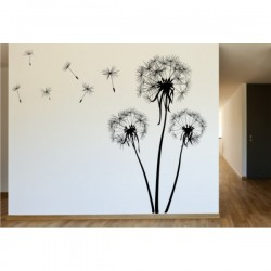 Wall sticker pattern dandelions no. 10
