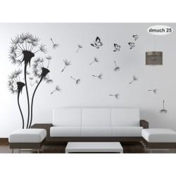 Wall sticker pattern dandelions no. 25