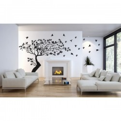 Wall sticker pattern tree no. 229
