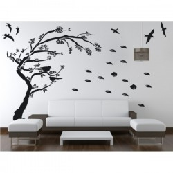 Wall sticker pattern tree no. D31