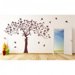 Naklejka ścienna drzewa motyw 241