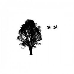 Naklejka ścienna drzewa motyw D6