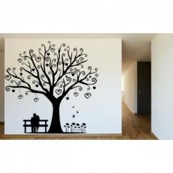 Naklejka ścienna drzewa motyw 231