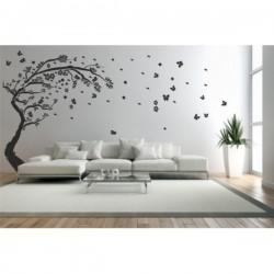 Wandaufkleber-Motiv Baum Nr. D15