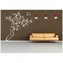 Wandaufkleber-Motiv Baum Nr. D30