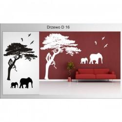 Wandaufkleber-Motiv Baum Nr. D16