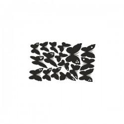 Wandaufkleber-Motiv Schmetterling Nr. 1