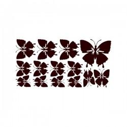 Nástěnná samolepka motiv motýli č. 5
