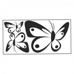 Nástěnná samolepka motiv motýli č. 15