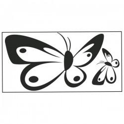 Nástěnná samolepka motiv motýli č. 16