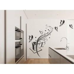 Wandaufkleber-Motiv Nr. Küchen 1207